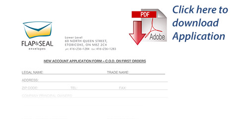 Flap-and-Seal-Credit-Application